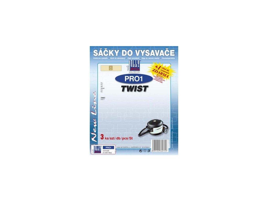 Sáčky do vysavače Jolly PRO1 (3ks) do vysav. Twist Profi 1