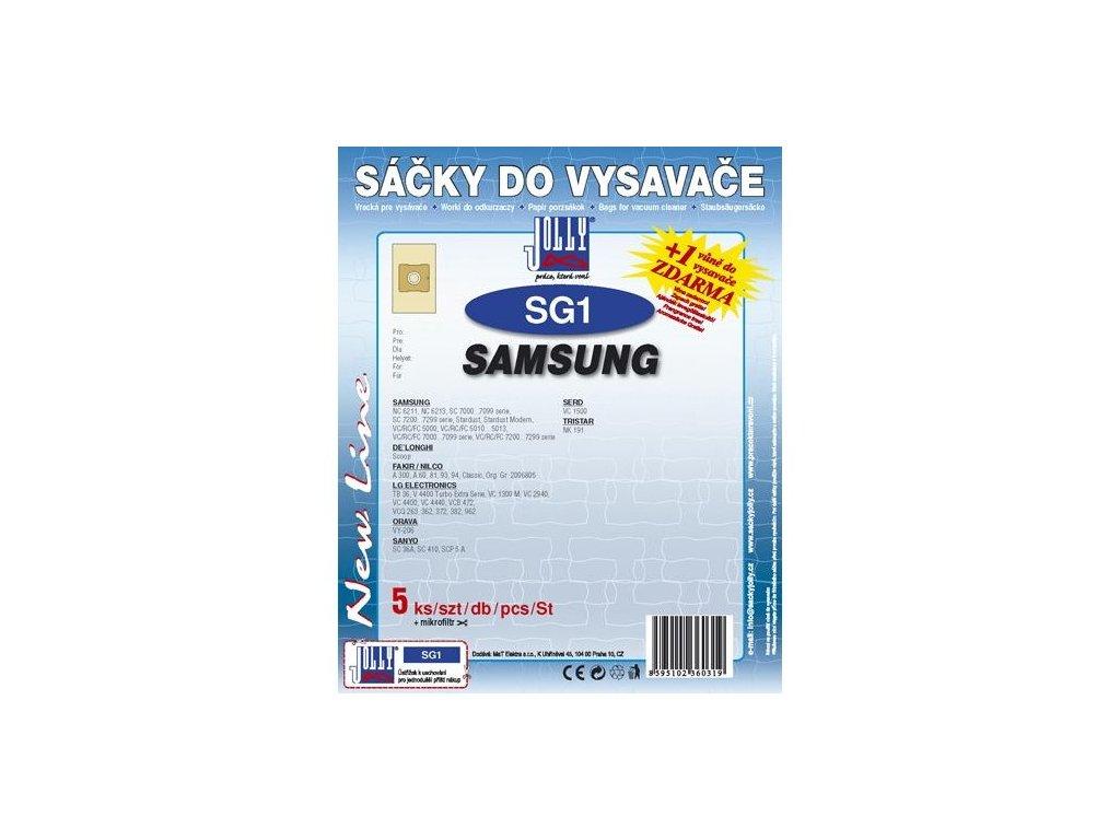 Sáčky do vysavače Jolly SG 1 (5+1ks) do vysav. SAMSUNG
