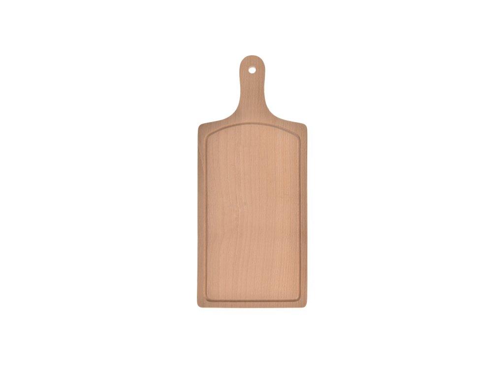 Dřevěné krájecí prkénko, 44 x 20 cm