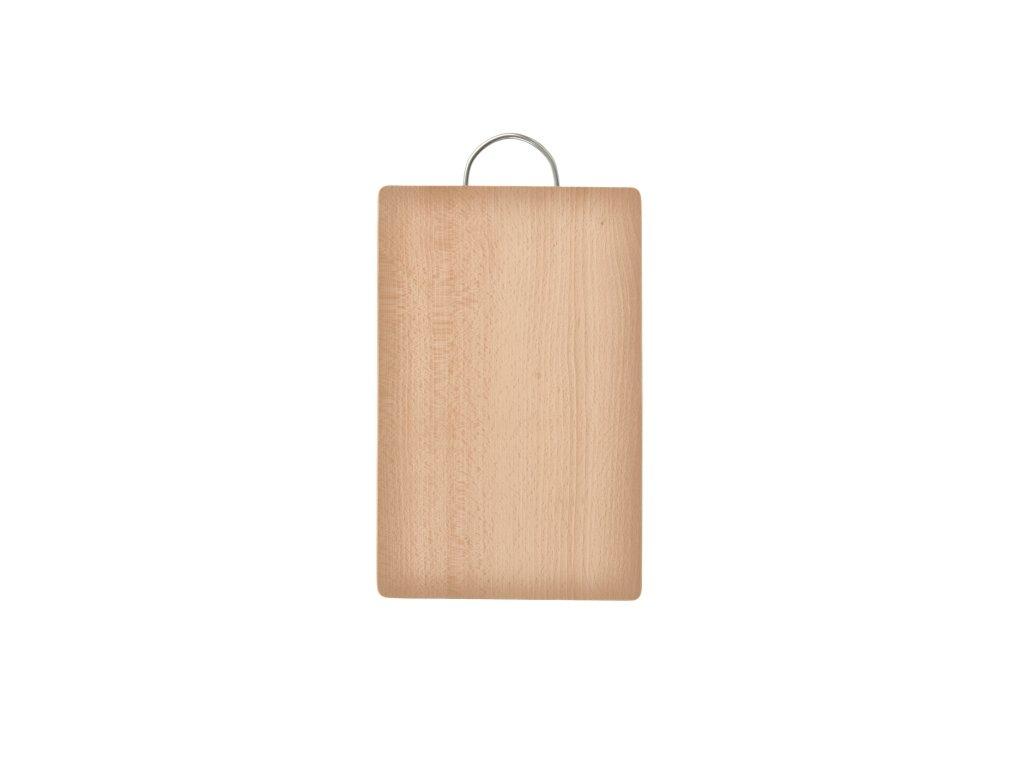 Dřevěné prkénko na krájení, 24 x 19 cm