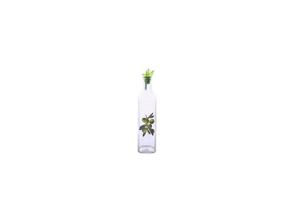 Skleněná láhev na ocet nebo olej, 0,5 l