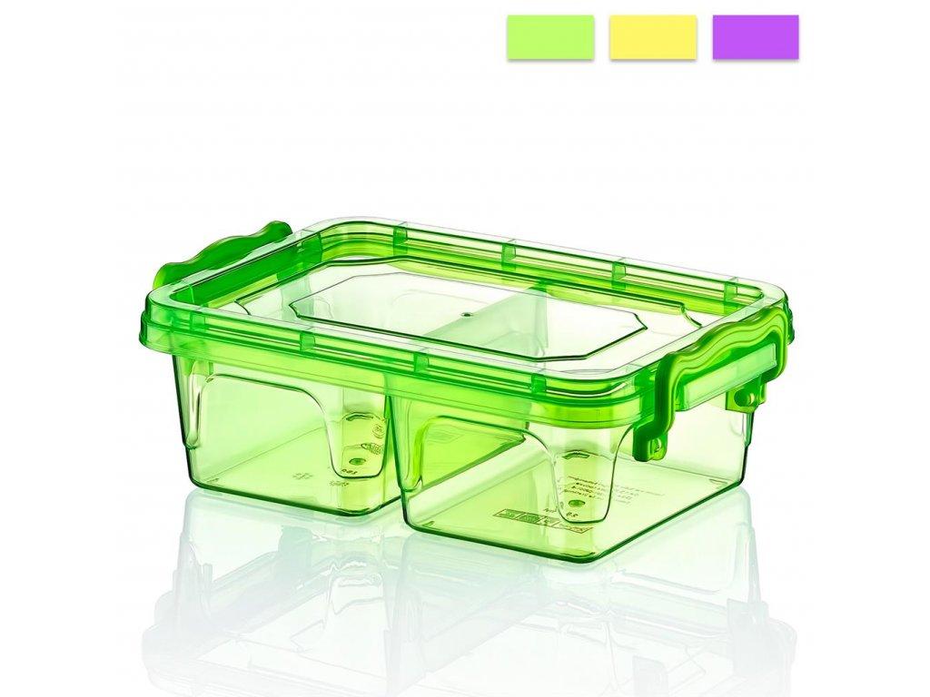 Plastový box Multi dělený 0,5 l