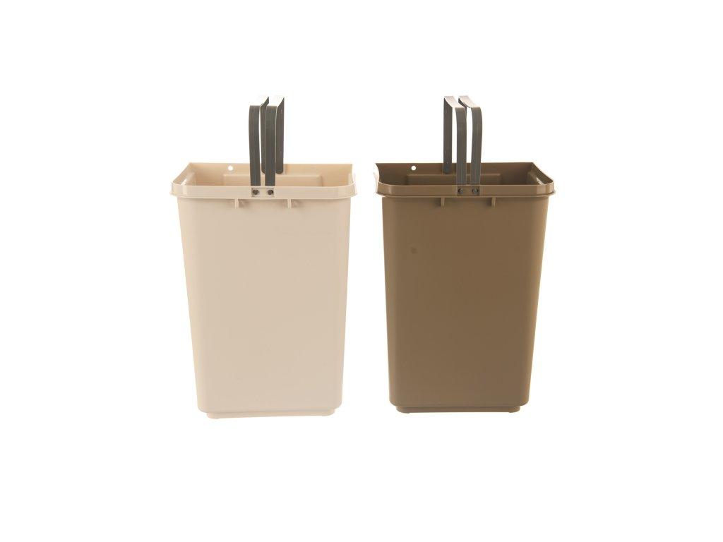 Odpadkový koš na tříděný odpad DUST 2x10 l