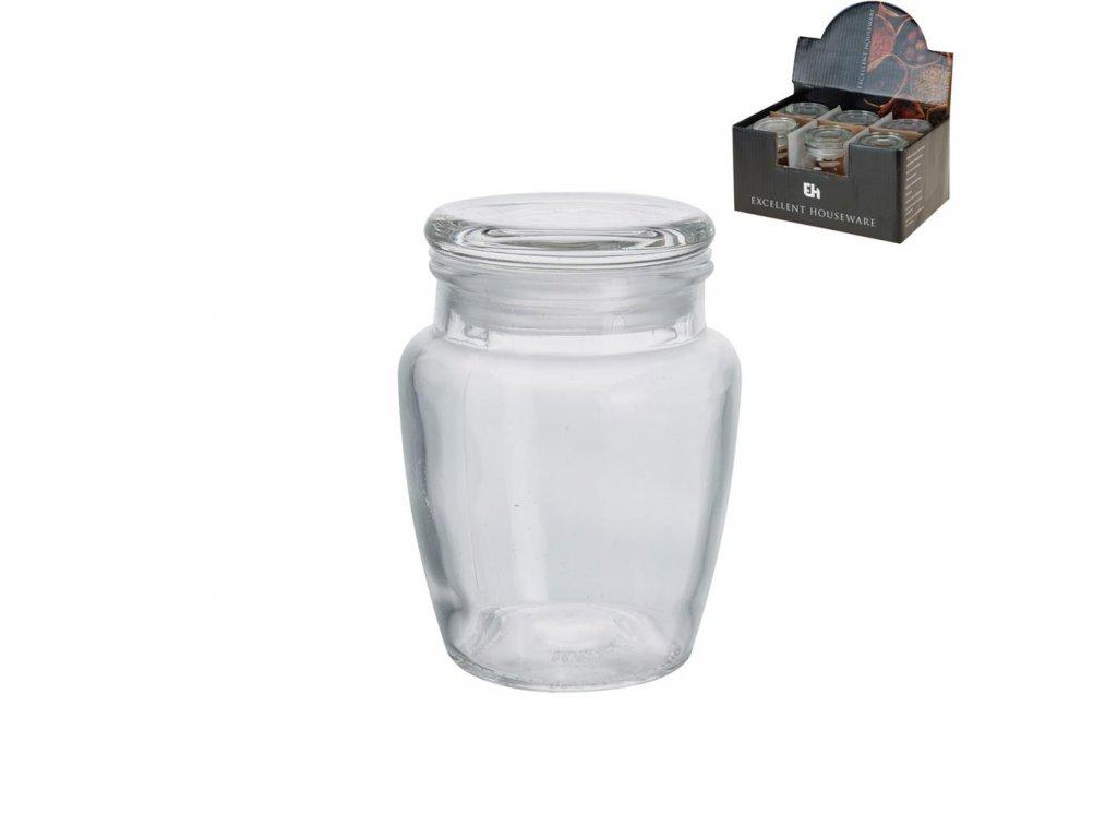 Dóza sklo DISPLAY válec 0,2l