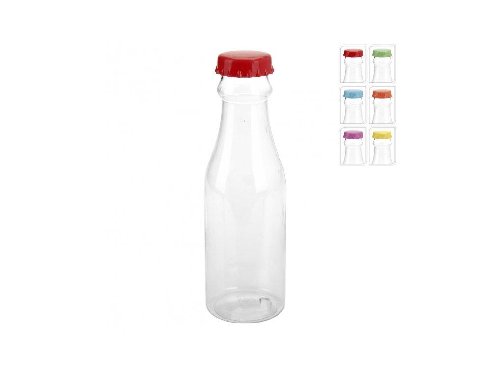 Plastová láhev s víčkem 0,65 l