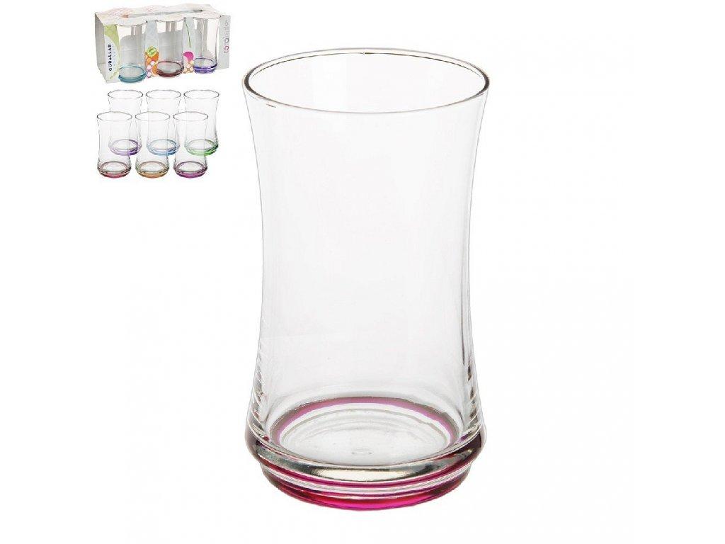 Barevná sklenice, 0,365 l