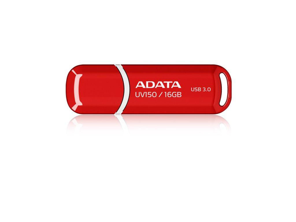 Flash USB ADATA UV150 16GB USB 3.0 - červený