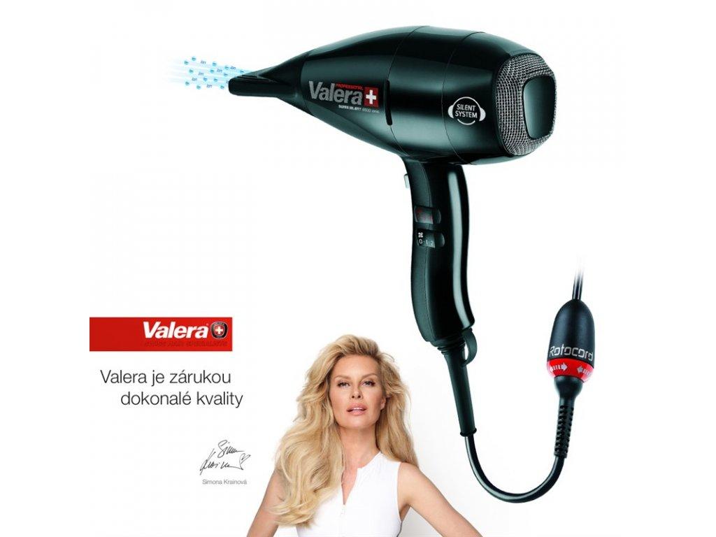 Fén profesionální Valera Swiss SILENT 6500 Ionic ROTOCORD (SX 6500Y RC)