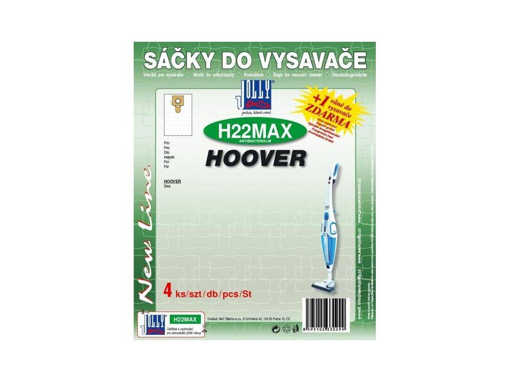 Sáčky do vysavače Jolly MAX H 22 pro Hoover Diva