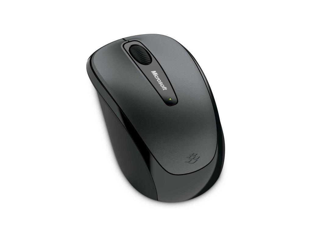 Myš Microsoft Wireless Mobile Mouse 3500 Black / optická / 3 tlačítka / 1000dpi - černá