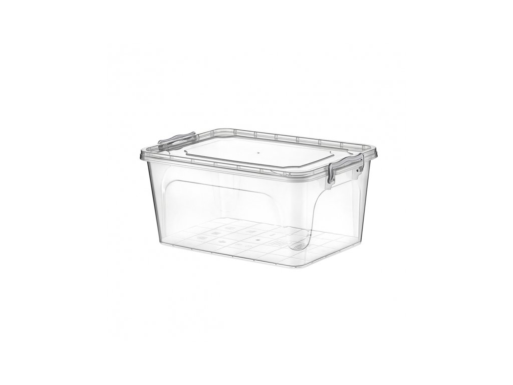 Plastový multifunkční box s víkem, 3 l