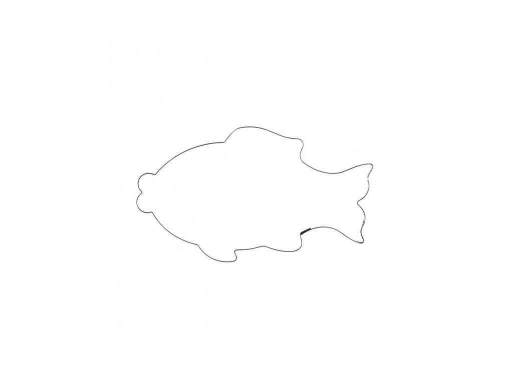 Nerezové vykrajovátko Ryba, 14,5 x 9,5 cm