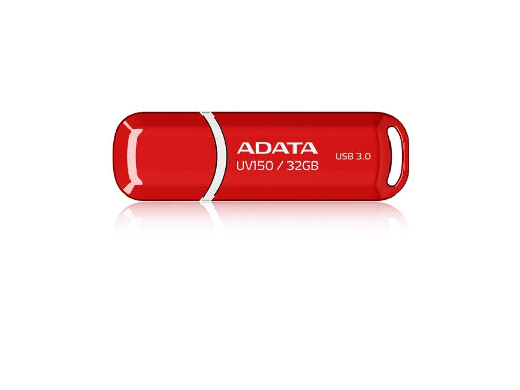 Flash USB ADATA UV150 32GB USB 3.0 - červený