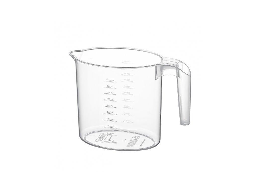 Plastový džbán s měrkou 1 l