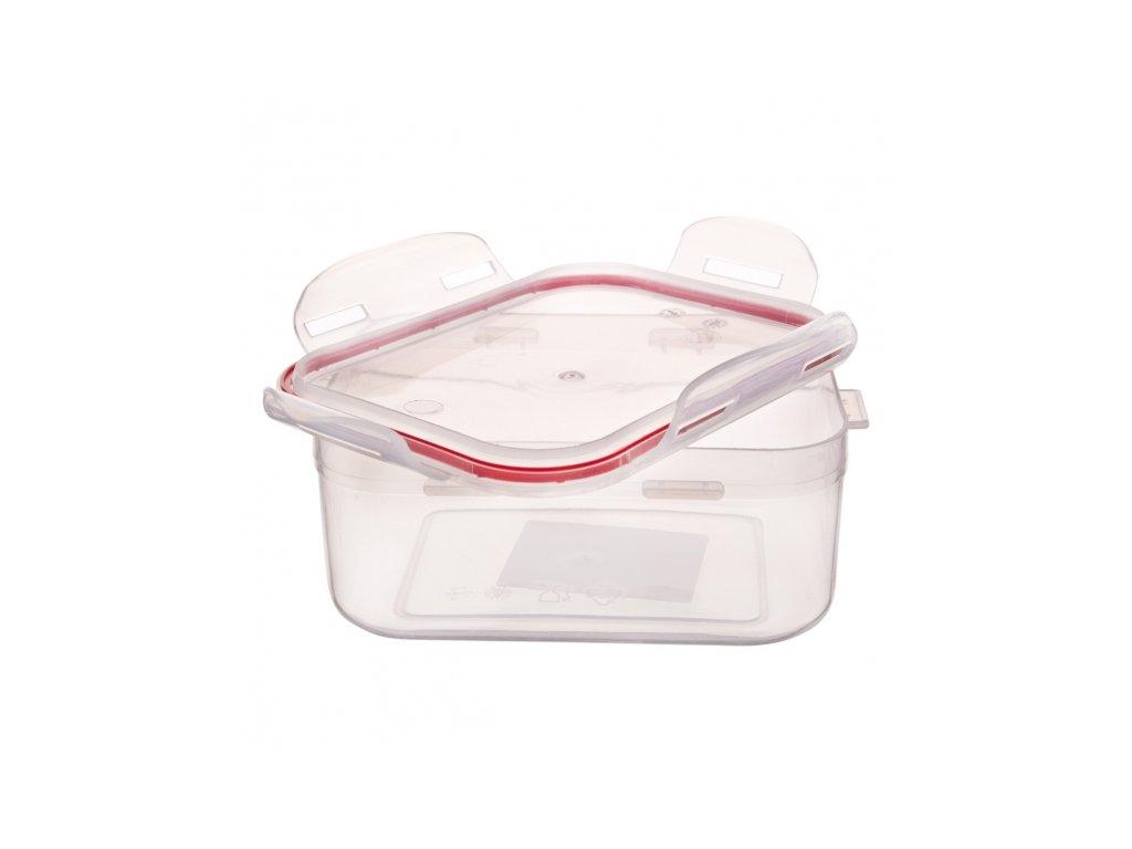 Plastová dóza na potraviny s těsněním, 0,8 l