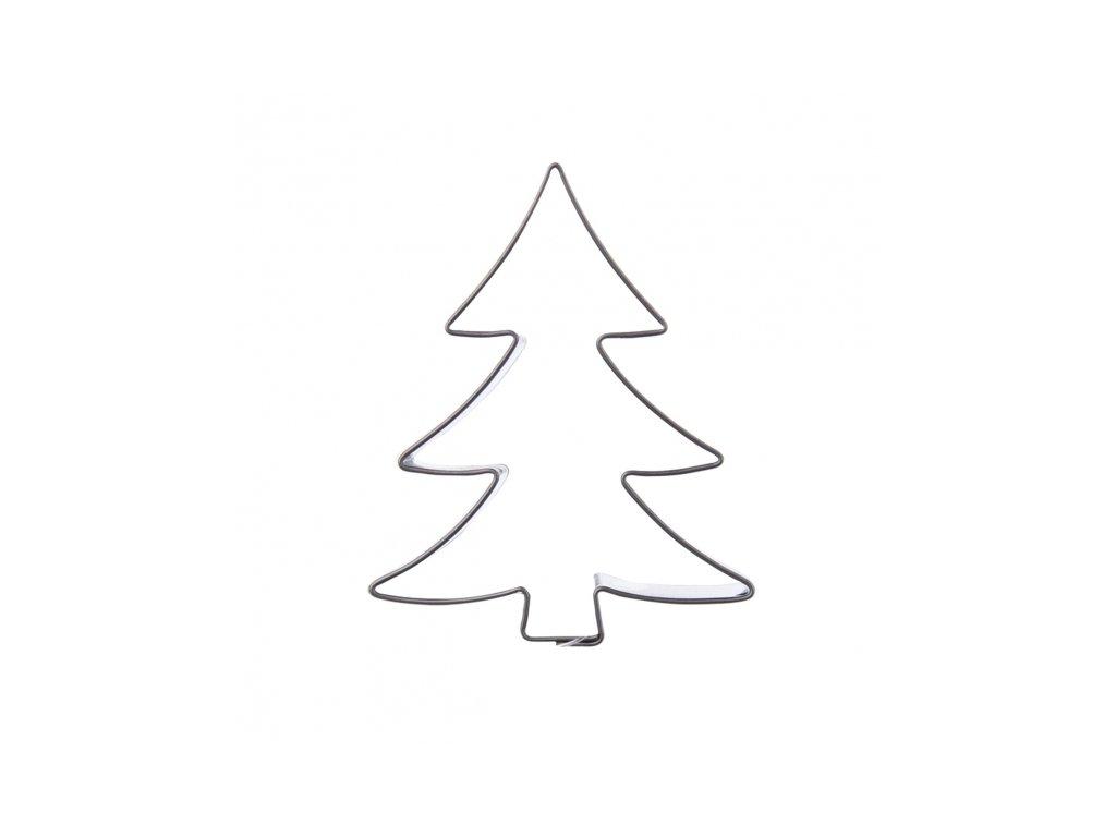 Nerezové vykrajovátko velký Stromeček 5,5 x 6,7 cm