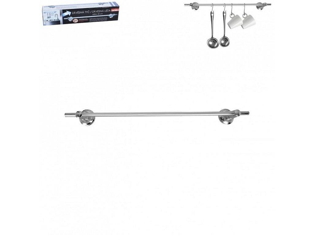 Závěsná kuchyňská tyč, 30 cm