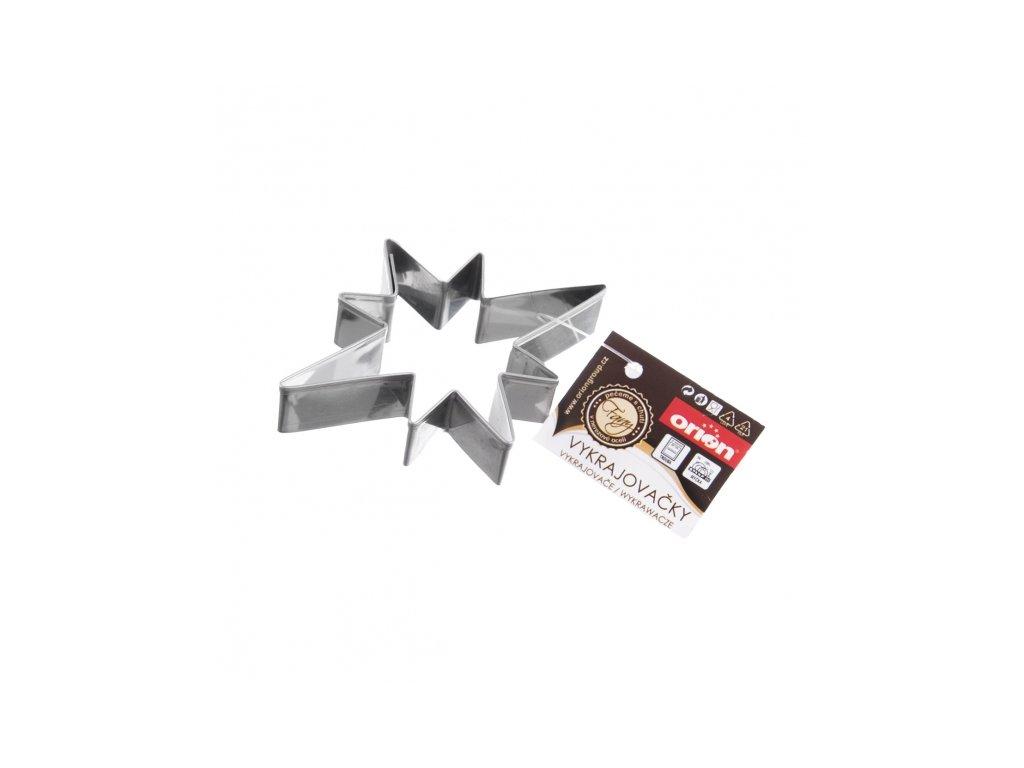 Nerezové vykrajovátko Hvězda, 8 x 6 cm