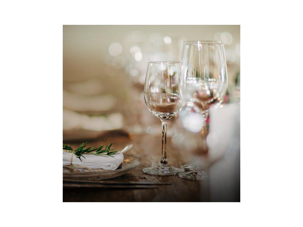 Sada sklenic na víno Lara o objemu 0,45 l, 6 ks