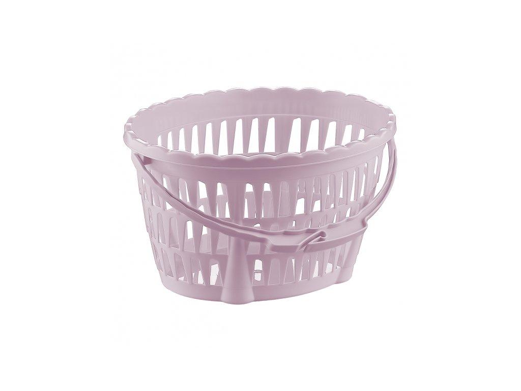Plastový koš na kolíčky na prádlo, 22 x 18 cm