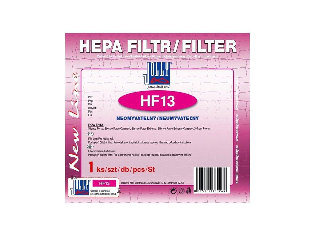 Filtr HEPA Jolly HF13 pro Rowenta Silence, neomyvatelný