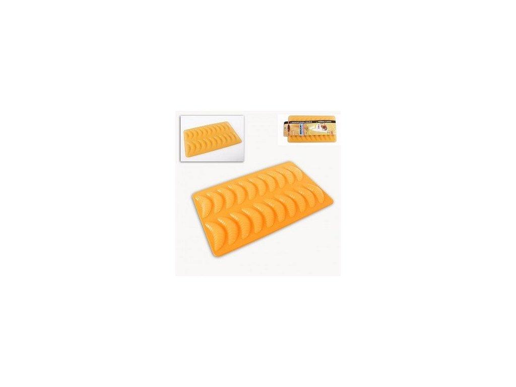Silikonová pečící forma na rohlíčky 20, 35,5 x 22 cm