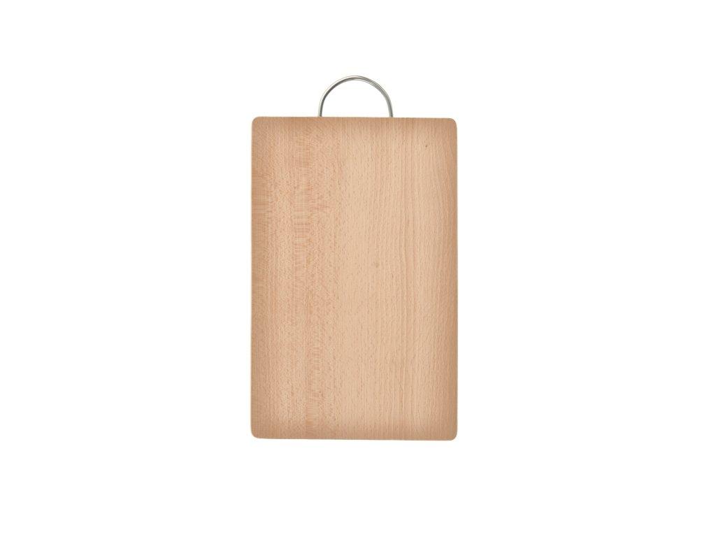 Dřevěné krájecí prkénko s uchem, 33 x 21,5 cm