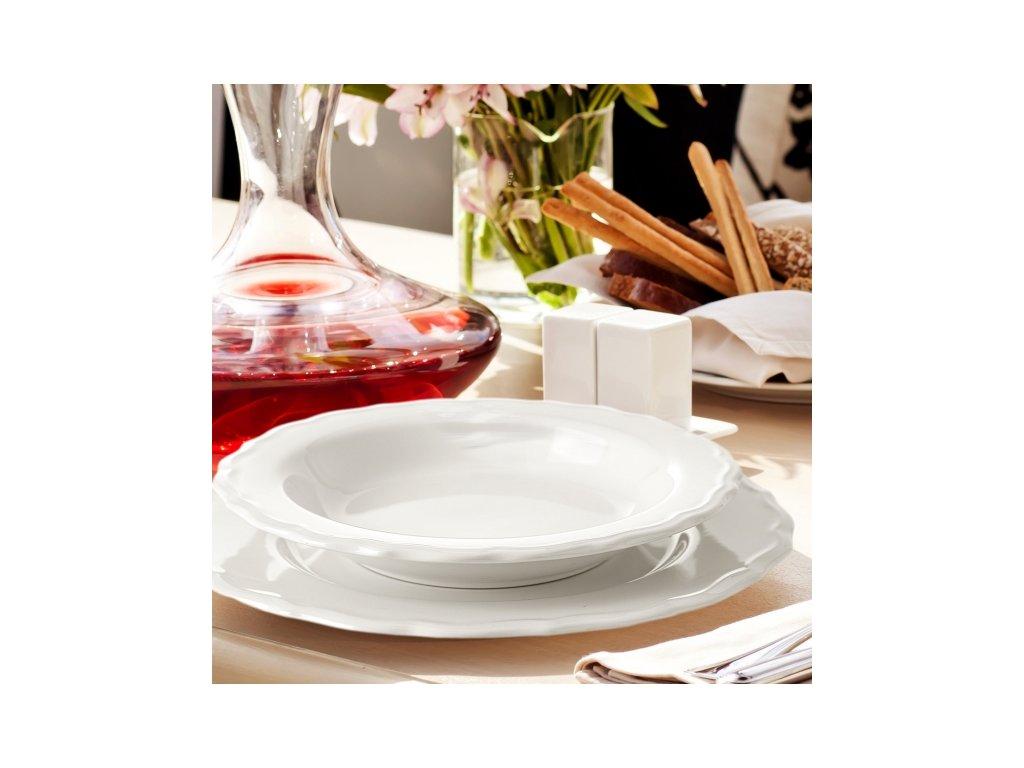 Keramický mělký talíř Juliet, průměr 27 cm