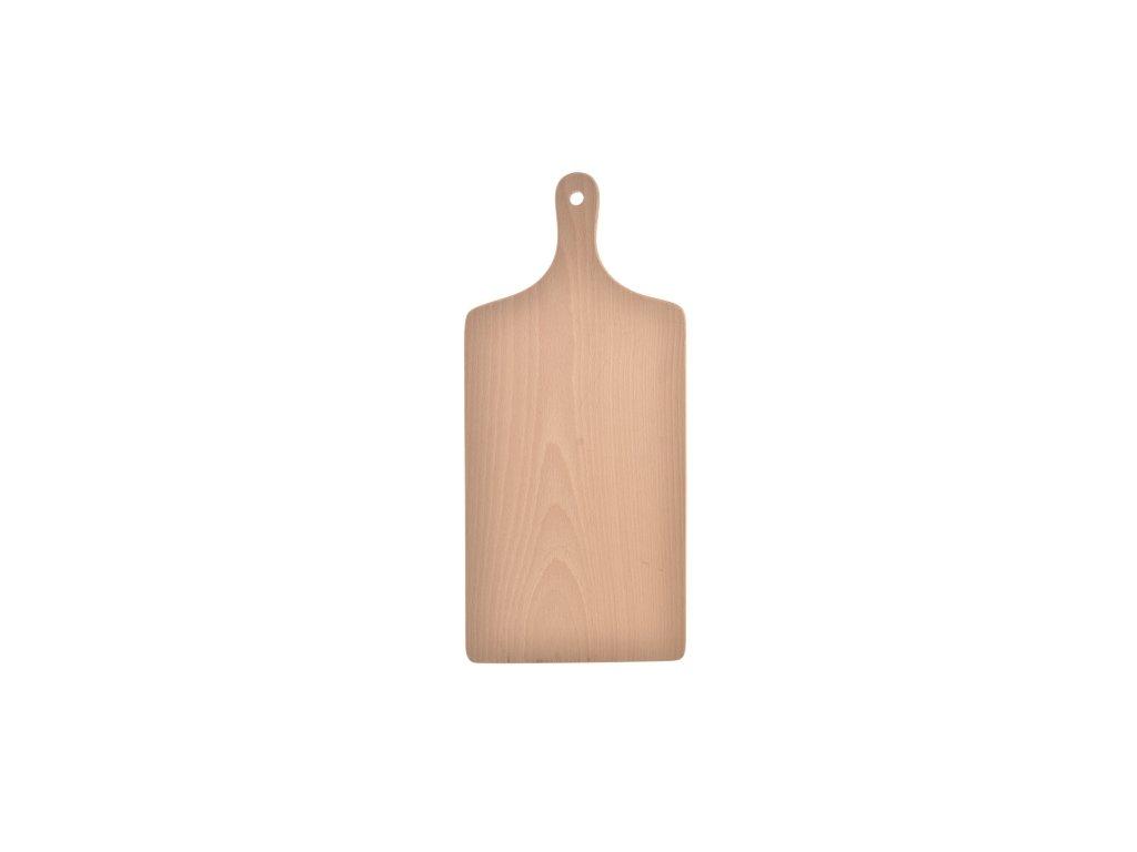 Dřevěné kuchyňské prkénko na krájení, 28 x 11,5 cm