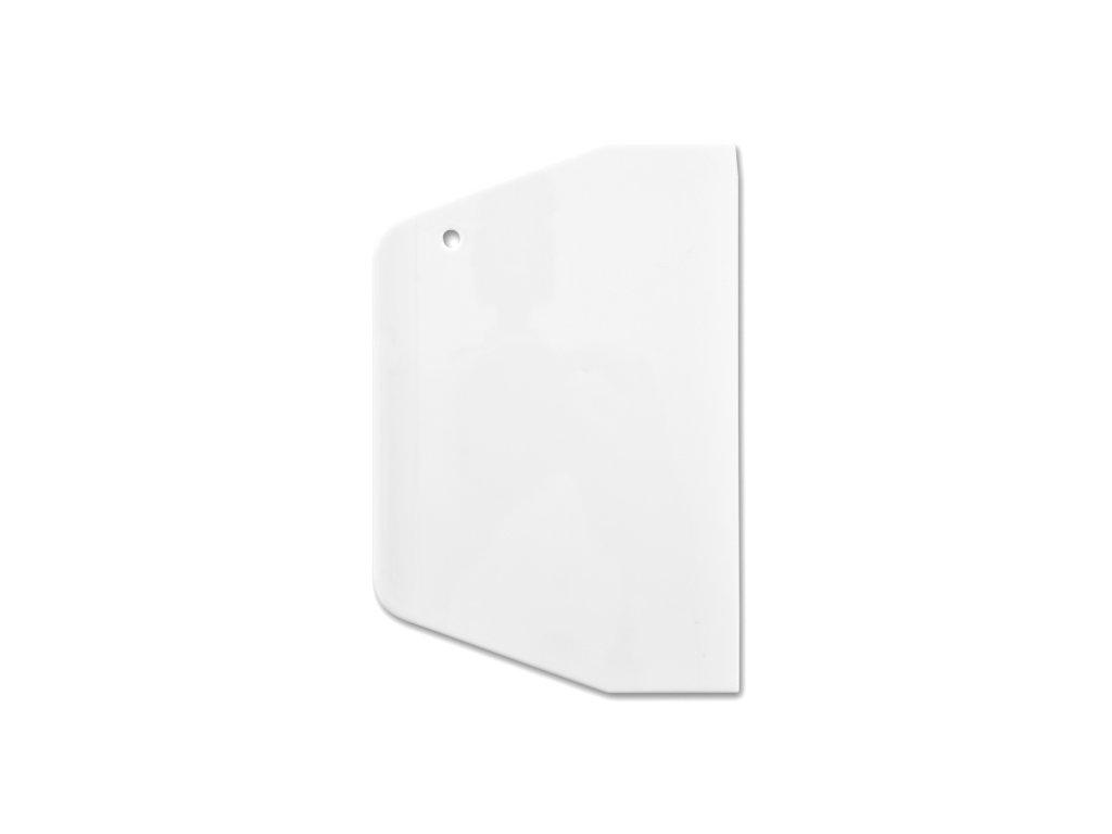 Plastová stěrka - špachtle, 19,4 x 13,5 cm