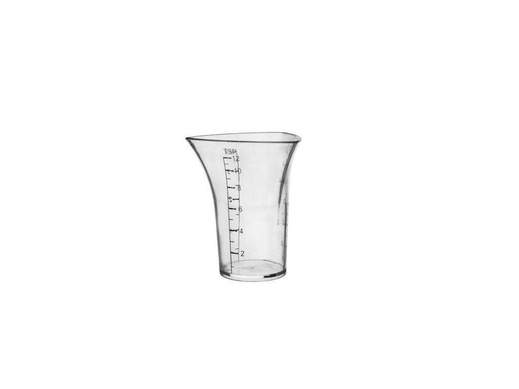 Plastová odměrka na koktejly, 0,06 l