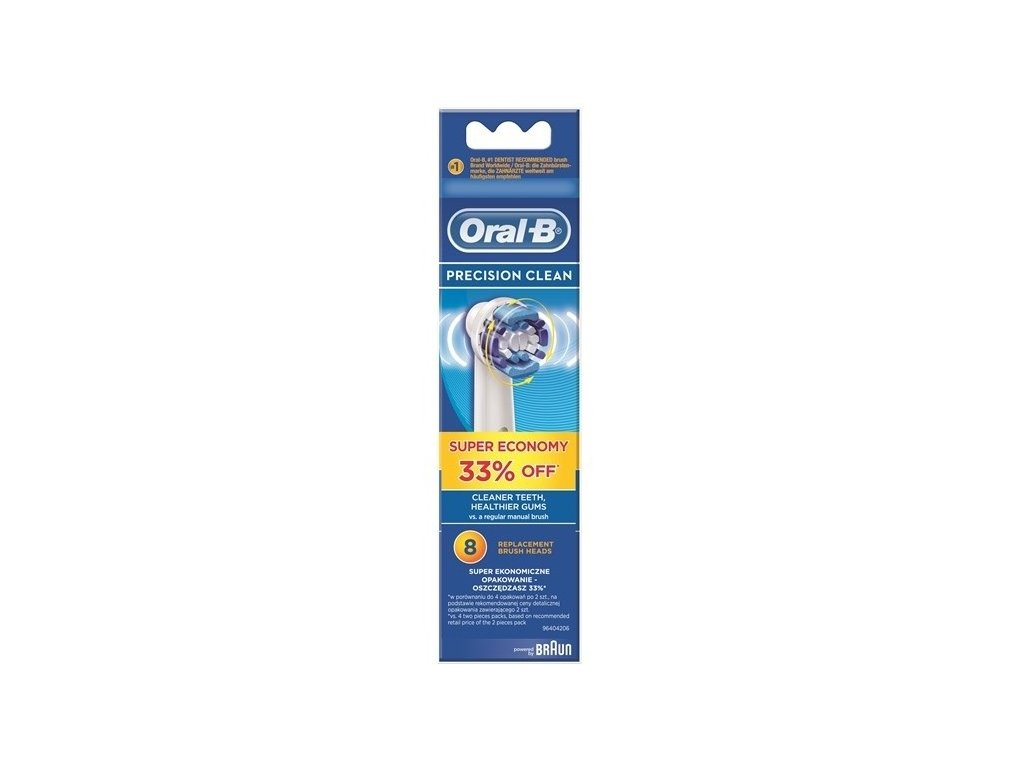 Náhradní kartáček Oral-B EB 20-8  Precision clean