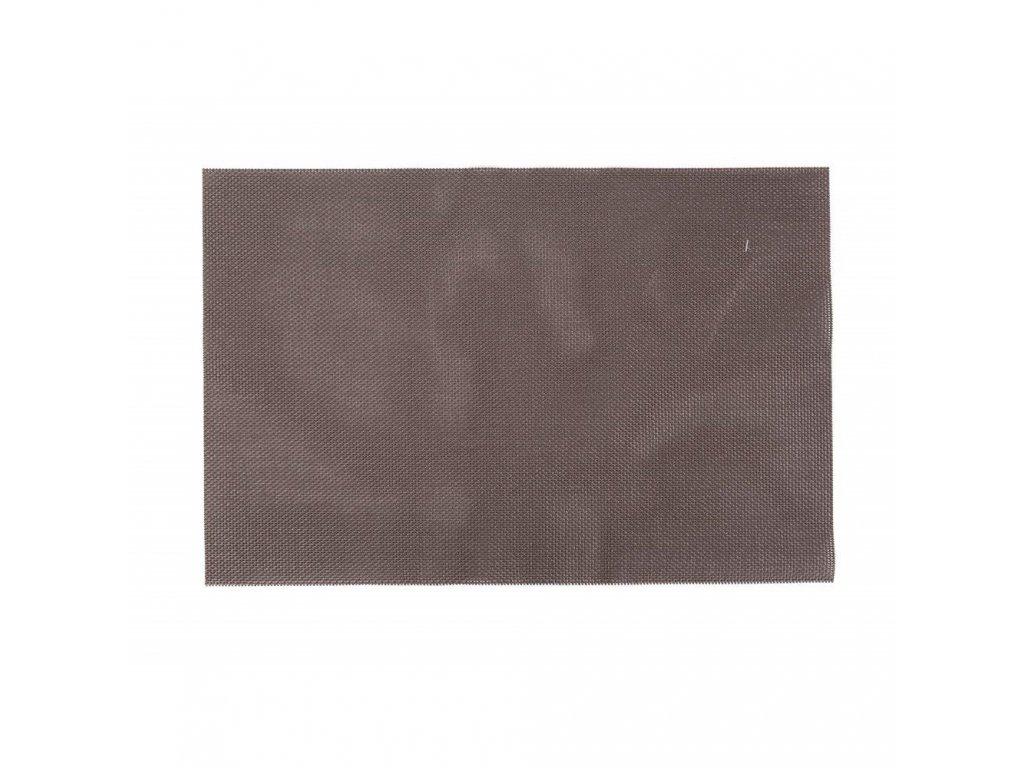 BANQUET Prostírání PIATTO 45 x 30 cm, 2 x 2 vlákna, hnědé