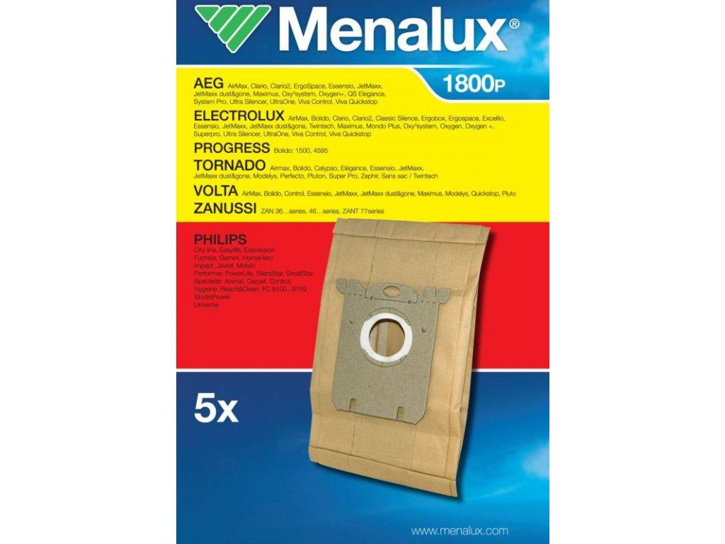 Sáčky do vysavače Menalux 1800 P