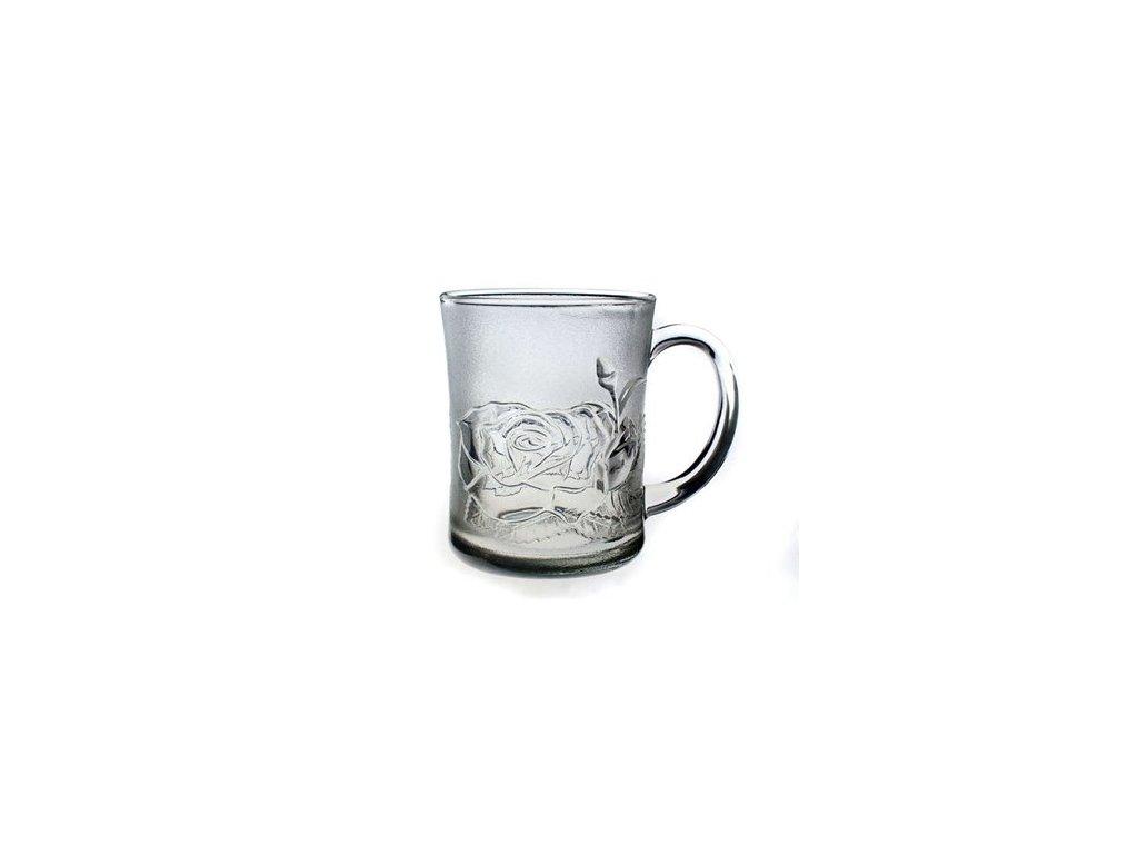 Hrnek skleněný ROSALIA 250 ml, 1 ks