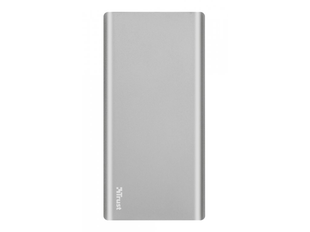 Powerbank Trust Omni Plus 20000mAh, USB-C, QC 3.0 - stříbrná