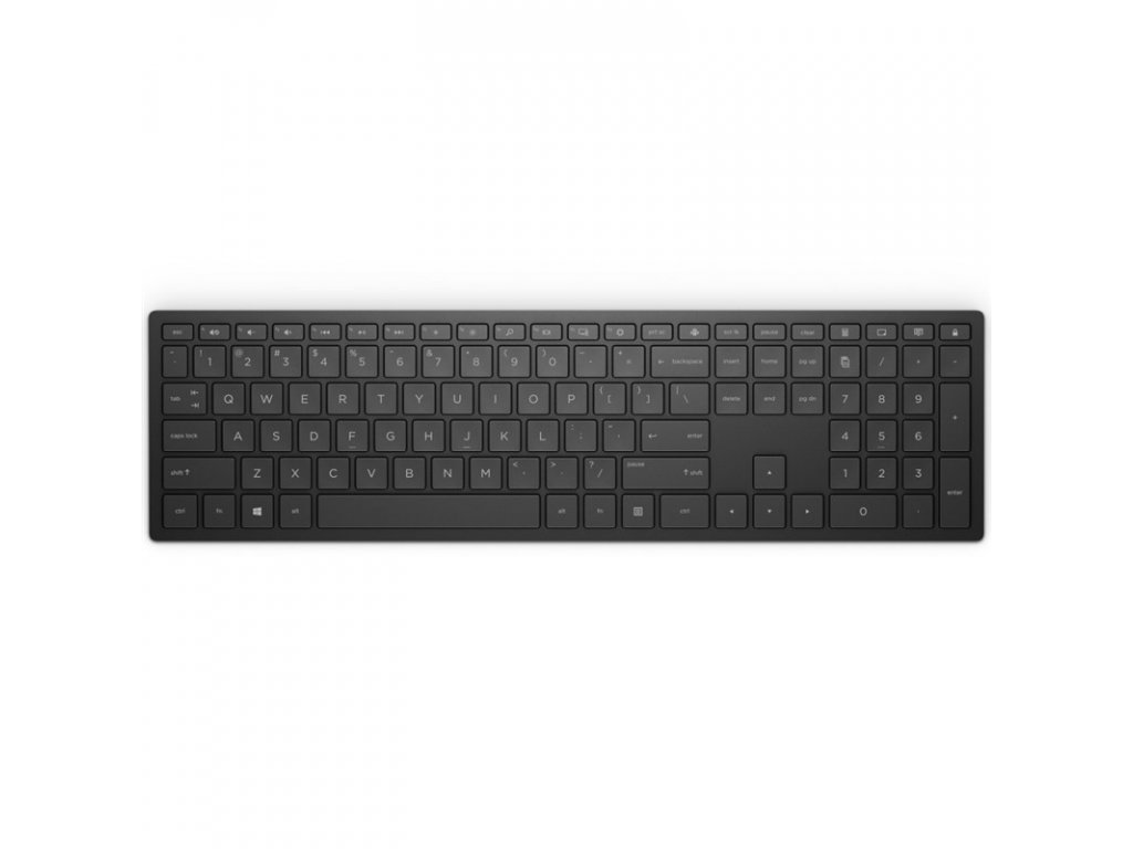 Klávesnice HP 600, CZ - černá