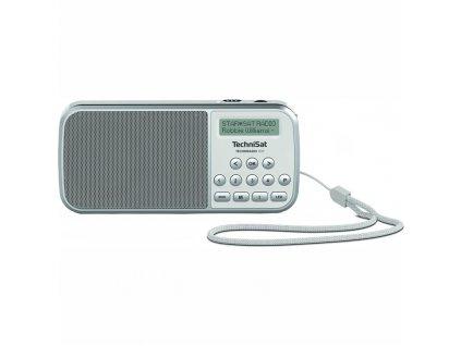 Radiopřijímač DAB TechniSat TECHNIRADIO RDR, bílý