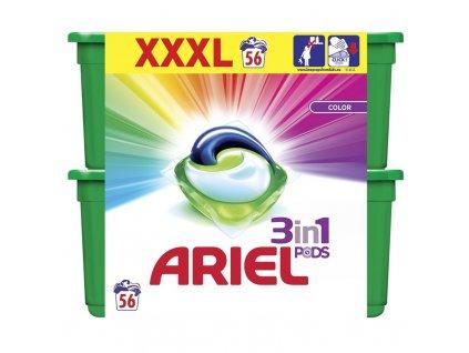 Gelové kapsle na praní Ariel Color 56 ks