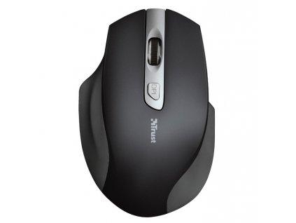 Myš Trust pro leváky Lagau Left-handed / optická / 6 tlačítek / 1600dpi - černá