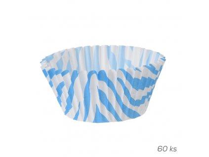 Košík cukrářský papír pr. 5 cm/60 ks ASS