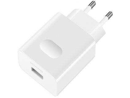 Nabíječka do sítě Huawei AP32, USB-C, s funkcí rychlonabíjení - bílá