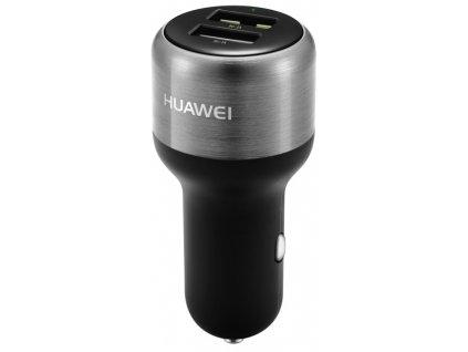 Adaptér do auta Huawei AP31 FastCharge, 2x USB, 2A, s funkcí rychlonabíjení - černý