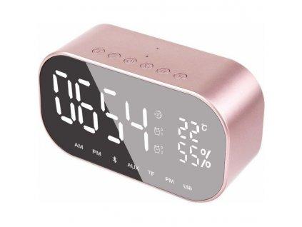 Radiobudík AKAI ABTS-S2, růžový