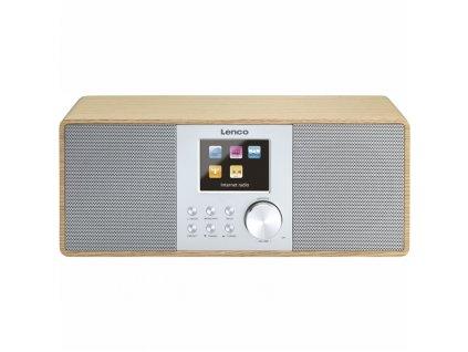 Internetové rádio Lenco DIR-200, dřevo
