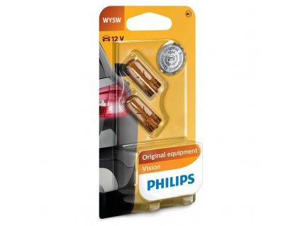 Autožárovka Philips Vision WY5W, 2ks
