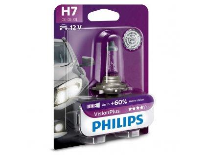 Autožárovka Philips VisionPlus H7, 1ks