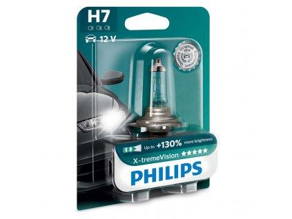 Autožárovka Philips X-tremeVision H7, 1ks