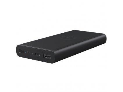 Powerbank Xiaomi MI 10000mAh, bezdrátové nabíjení, USB-C - černá