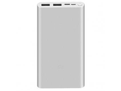 Powerbank Xiaomi Mi 18W Fast Charge 3 10 000 mAh, USB-C - stříbrná